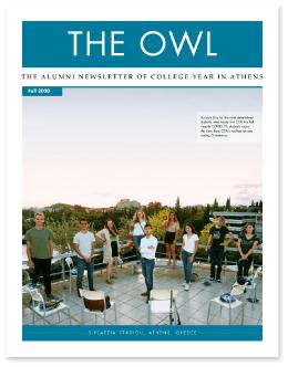 CYA Newsleter - THE OWL Fall 2020