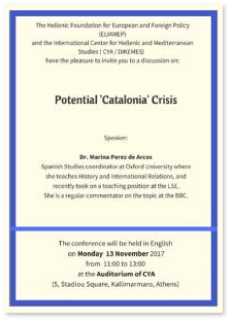 potential catalan crisis discussion poster thumb